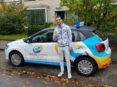 Olaf - rijbewijs gehaald bij Rijles Zonder Stress